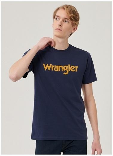 Wrangler Wrangler W211922410_Logo T-shirt  Lacivert